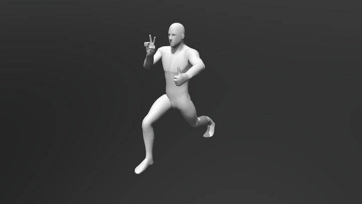 Posado 3D 3D Model