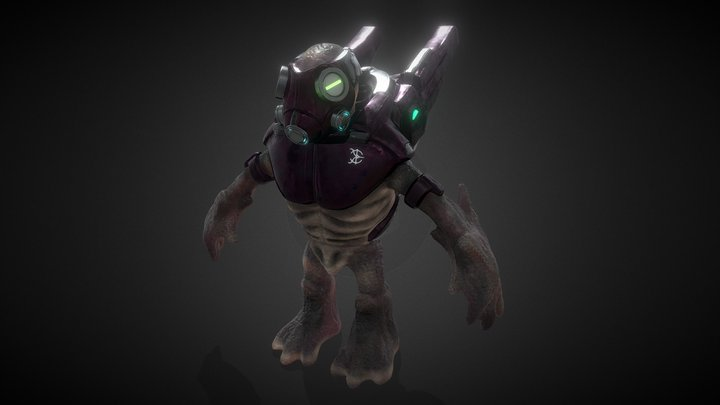 Halo SpecOps Grunt 3D Model