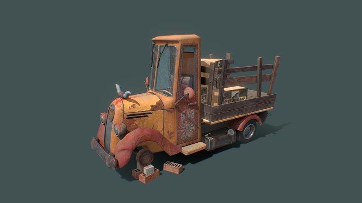 Truck XYZ 3D Model