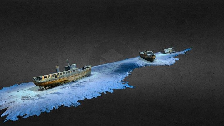 3 Gozo Wrecks 3D Model