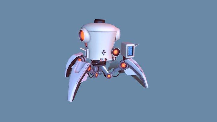 Robot Draft 3D Model