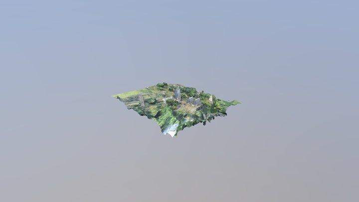 Башня Дзодзиковых реконструкция 3D Model