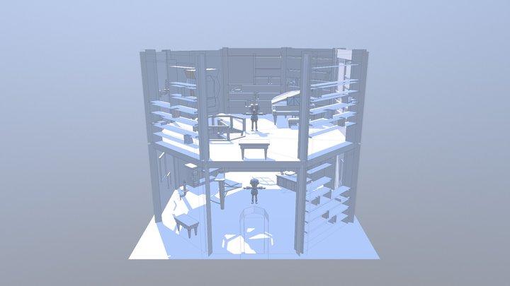 Inside The Tower 3D Model