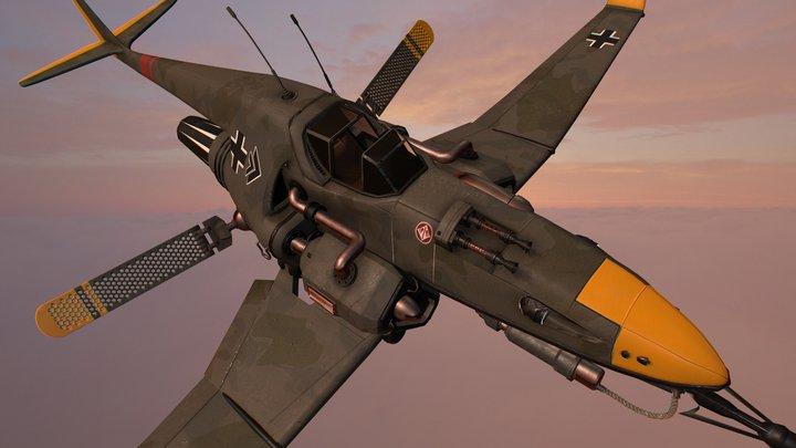 Vogeljaeger Bf-310 3D Model