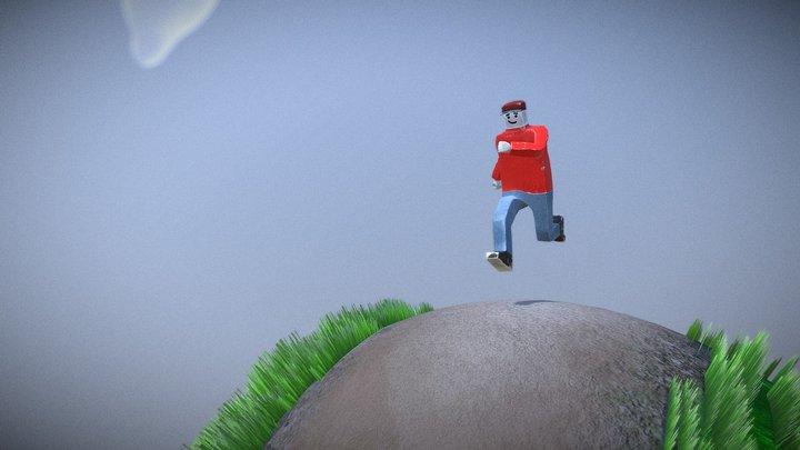 Mr Default2 World 3D Model