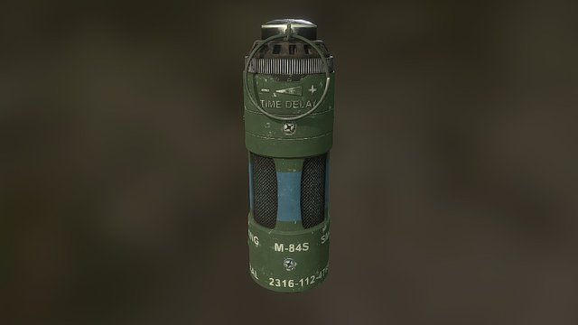 Quixel Grenade Contest Entry on Polycount 3D Model