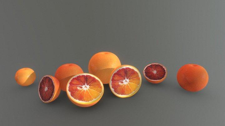 Orange Pack 3D Model