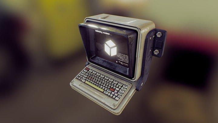 Main Frame - Hacking Terminal 3D Model