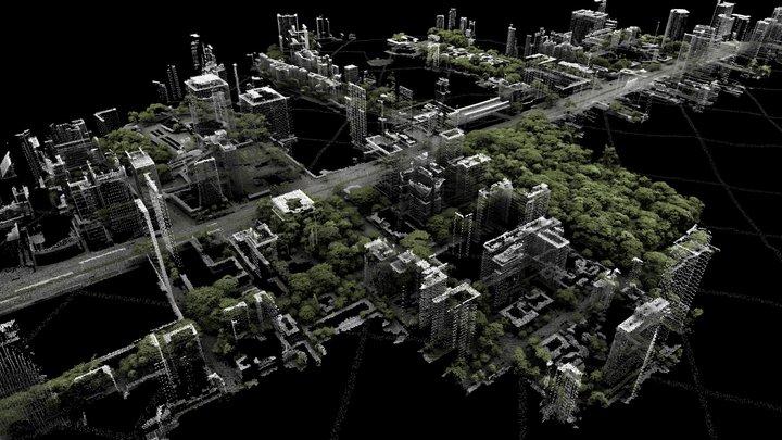 Avenida Paulista 3D Model