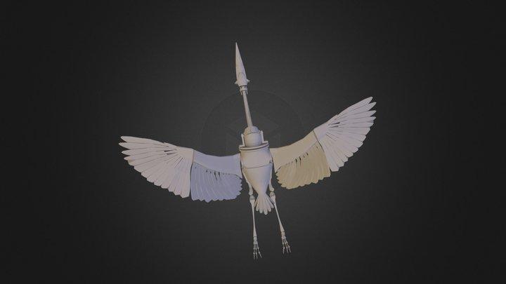 Heron 2 3 3D Model