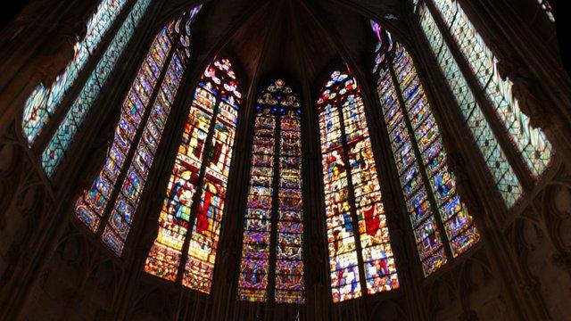 Test Vitrail. Église Saint-Nazaire (Carcassonne) 3D Model