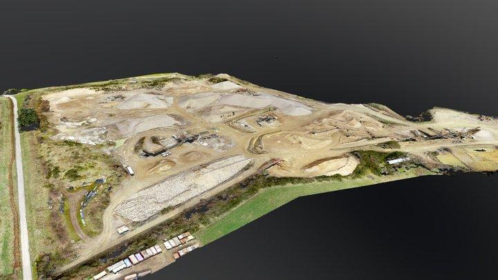 Innovair Sample Quarry 3D Model