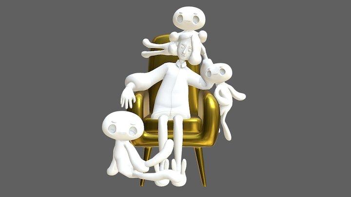 projects KM&LOZY | ver.01 3D Model