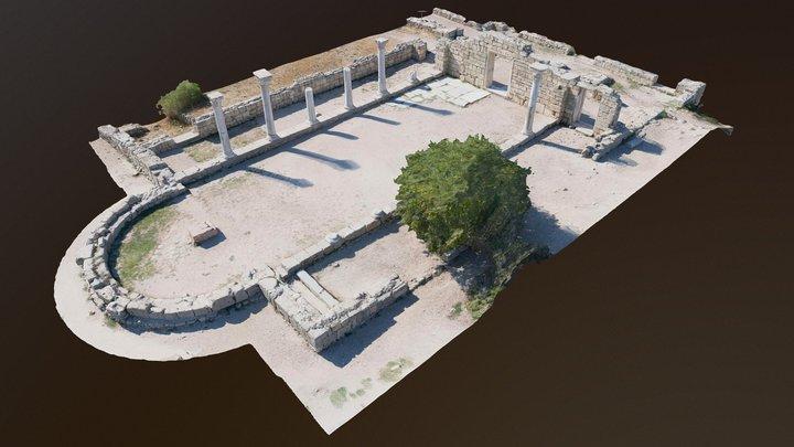 Church of Basilica, Chersonesus 3D Model