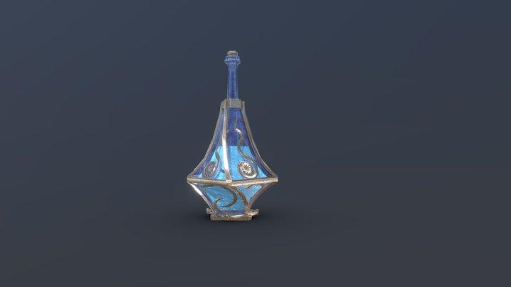 Middle mana potion 3D Model
