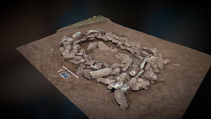 Tsatsyn Ereg (Mongolia) - Excavation (T207-L3) 3D Model