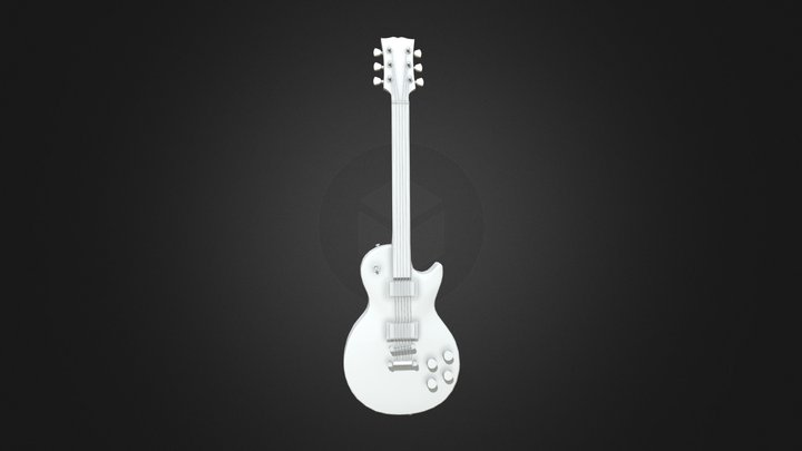 Gibson Les Paul Supreme Game Res 3D Model