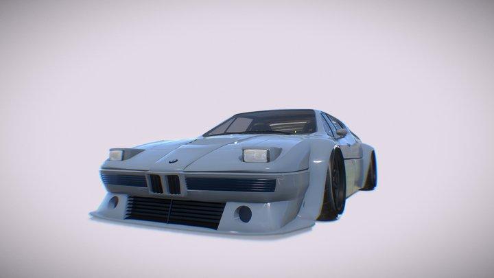 BMW M1 1981 3D Model