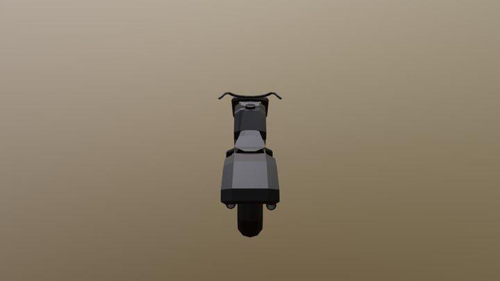 Moto 2 3D Model