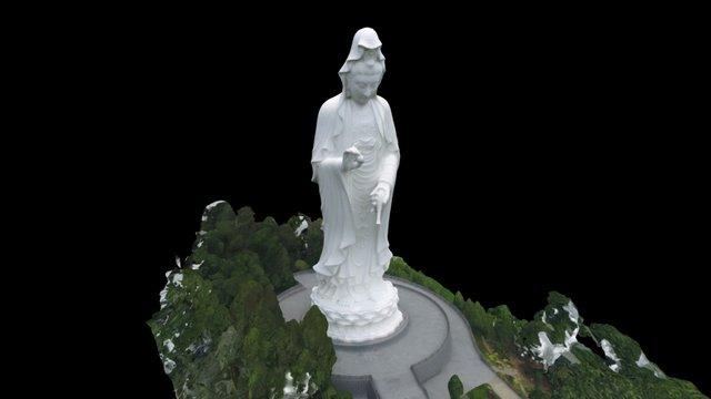 Guan Yin Statue (High Quality) 3D Model