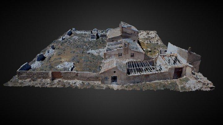Ruinas A-222 3D Model