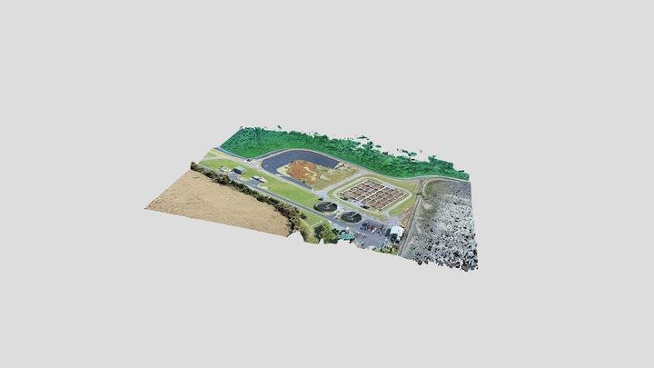Broadway/New Market Wastewater Treatment Plant 3D Model
