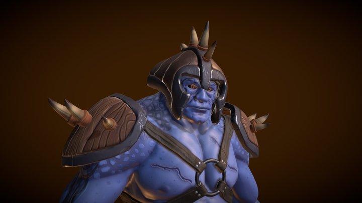 Wuragas Warrior 3D Model