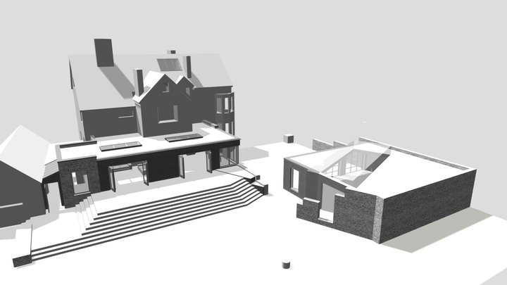 346 Extension + Alterations To Dwelling 3D Model