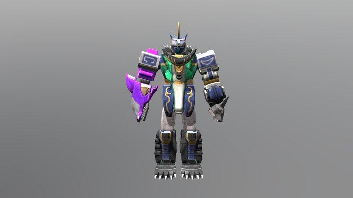 Predazord - Wild Force 3D Model