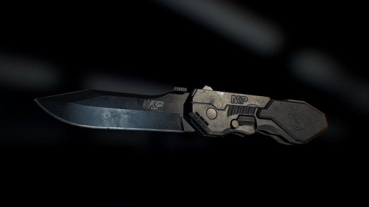 Knife 3D Model