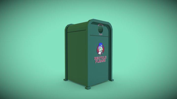 Downtown Disney Recycle Bin