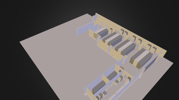 DATACENTER_VIRTUALE 3D Model