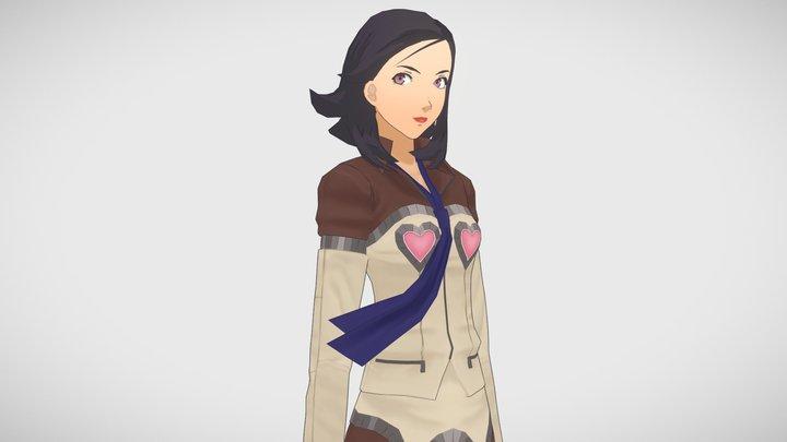 Maya - Persona 2 [Retrogasm 2018] 3D Model