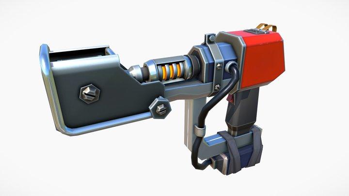 RAY-BUILDER - Stylized & Cartoon 3D Model