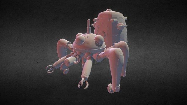 Tachikoma 3D Model