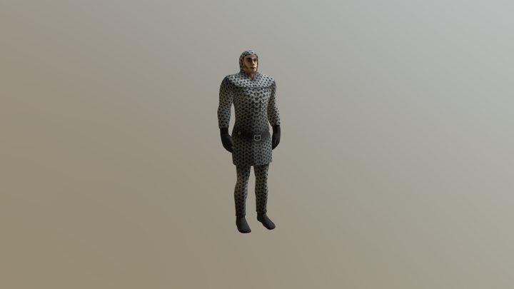 ManAnimation 3D Model