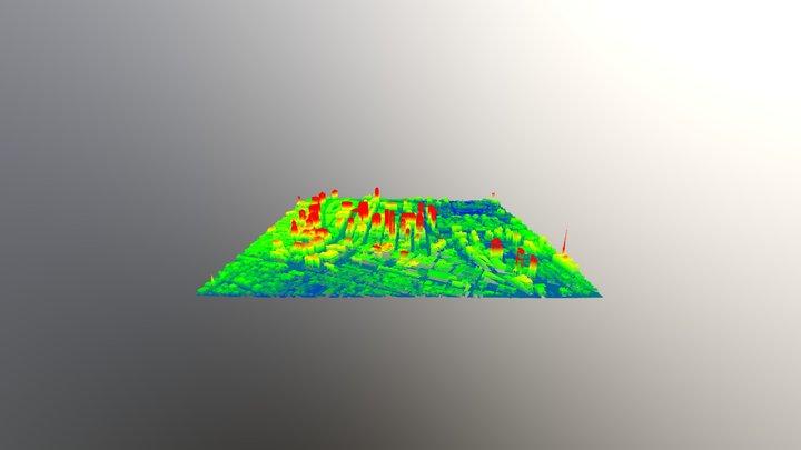 MetroTech Commons cb4184 3D Model
