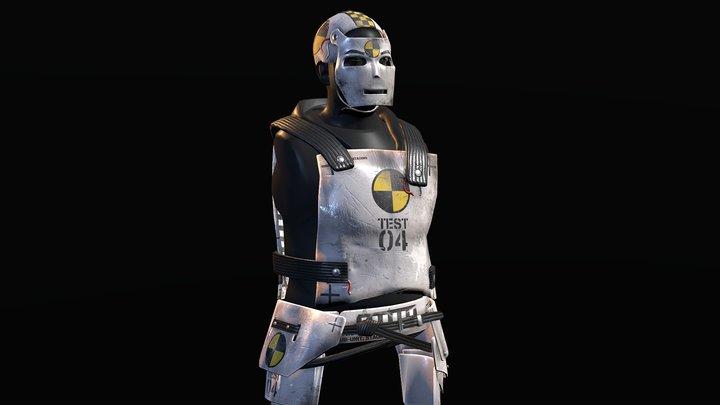 Test Dummy Armor 3D Model