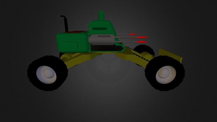 Skyhunter 3D Model