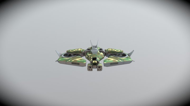 Drone [College Project] 3D Model
