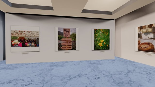 Instamuseum for @trasancos 3D Model