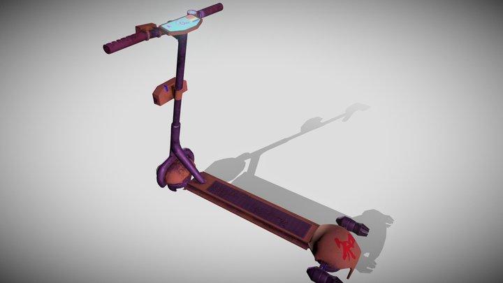 Hover Kick scooter 3D Model