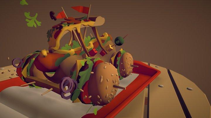 FastFood_Draft 3D Model
