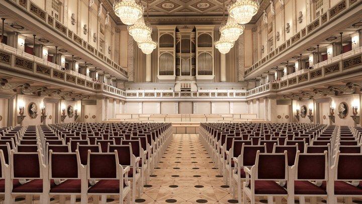Konzerthaus Berlin: Great Hall 3D Model