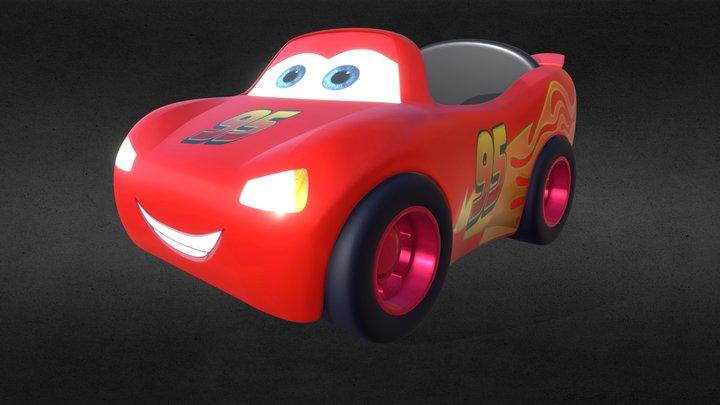 Toy Car macqueen 3D Model