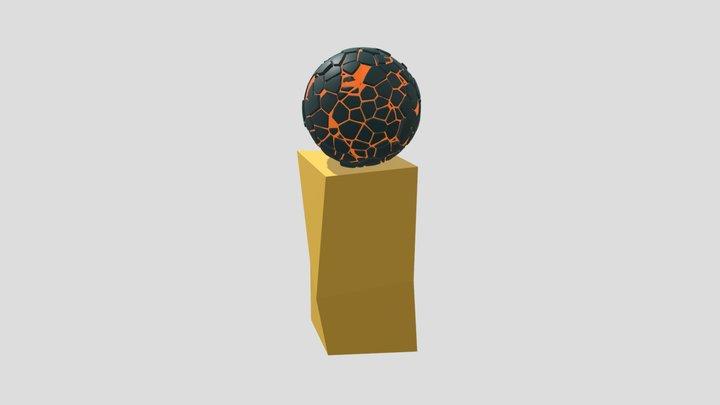 fire Orb 3D Model