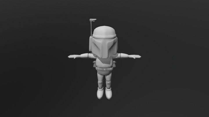 Boba Fett SD 3D Model