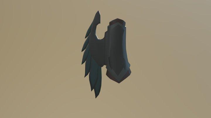 Blade Vambrace 3D Model