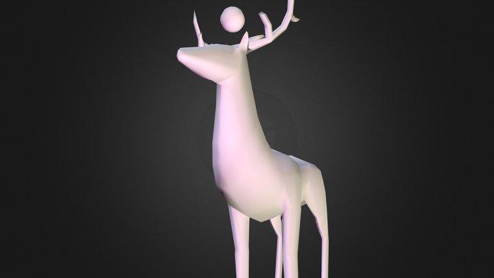 WIP of a deer 3D Model