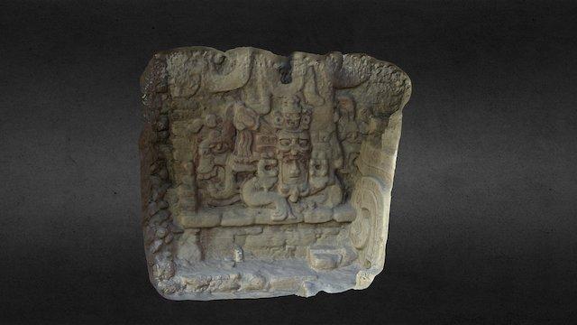 Becan Mayan Sculpture